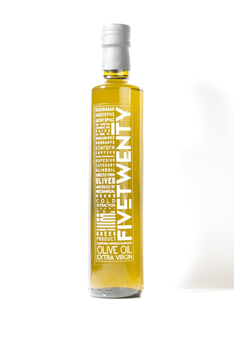 Greek Extra Virgin olive oil, made from Koroneiki variety, Klamata
