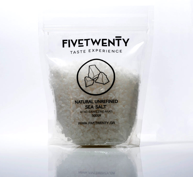 Unrefined Sea Salt from Mytilene Greek Island